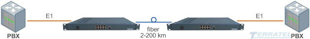 Конвертор интерфейсов TDMoIP, шлюз доступа TDM over Fiber, передача E1 G.703 потока по оптике, оптический конвертер шлюз TDM over IP и мультиплексор